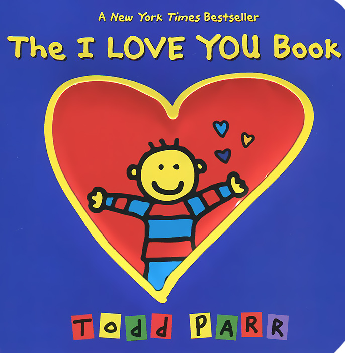 The I Love You Book when i found you