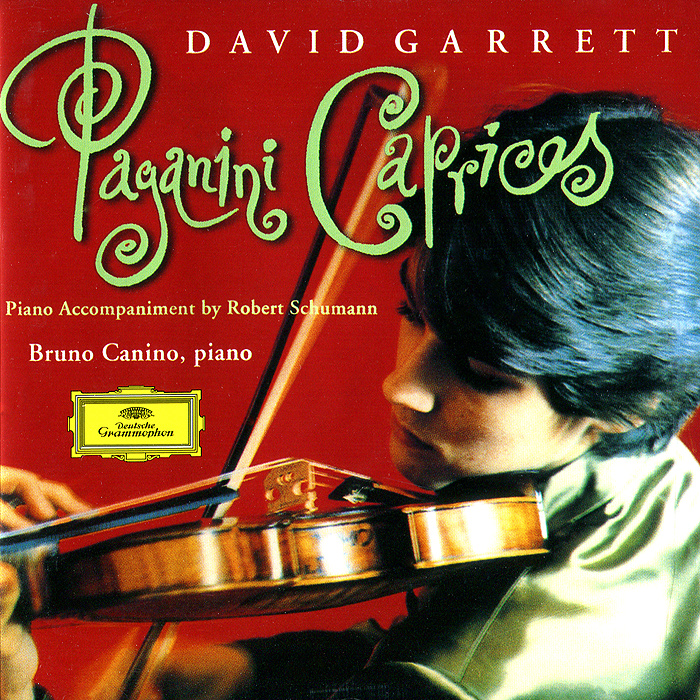 Бруно Канино,Дэвид Гарретт David Garrett, Bruno Canino. Paganini. Caprices For Violin, Op.24