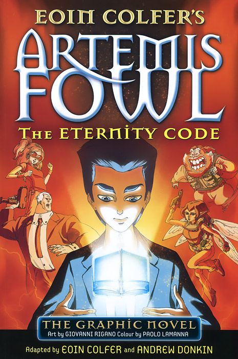 Artemis Fowl: The Eternity Code artemis fowl and the opal deception