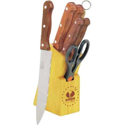 Набор кухонных ножей Bekker BK-145, 8 предметов набор кухонных ножей bohmann на подставке 7 предметов