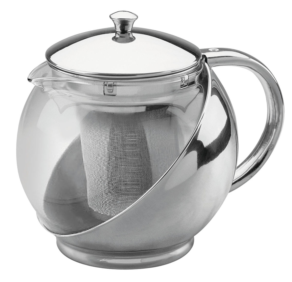Чайник заварочный Bekker, 950 мл. BK-303BK-303Заварочный чайник Bekker с крышкой, ручкой из нержавеющей стали и металлическим ситечком внутри имеет прекрасный внешний вид. В нем Вы можете приготовить вкусный и ароматный чай. Заварочный чайник займет достойное место на вашей кухне. Современный дизайн полностью соответствует последним модным тенденциям всоздании предметов бытовой техники. Характеристики:Материал:нержавеющая сталь, стекло. Объем: 0,95 л. Высота чайника: 12 см. Размер упаковки: 16,5 см х 14 см х 12 см. Артикул: BK-303.