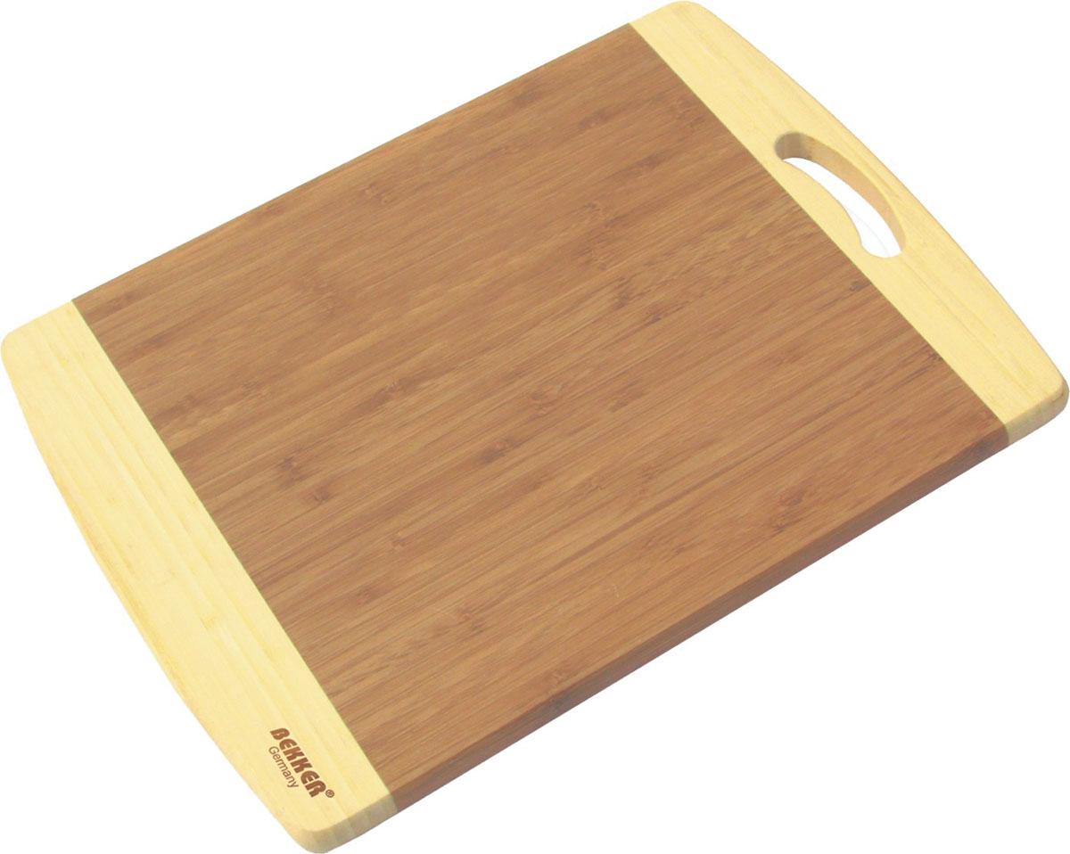 Доска разделочная Bekker, бамбуковая, 35 х 25 см BK-9712 разделочная доска bekker вк 9712