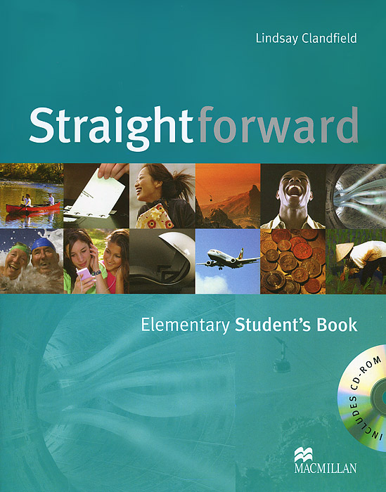 Straightforward Elementary Student's Book + CD-ROM