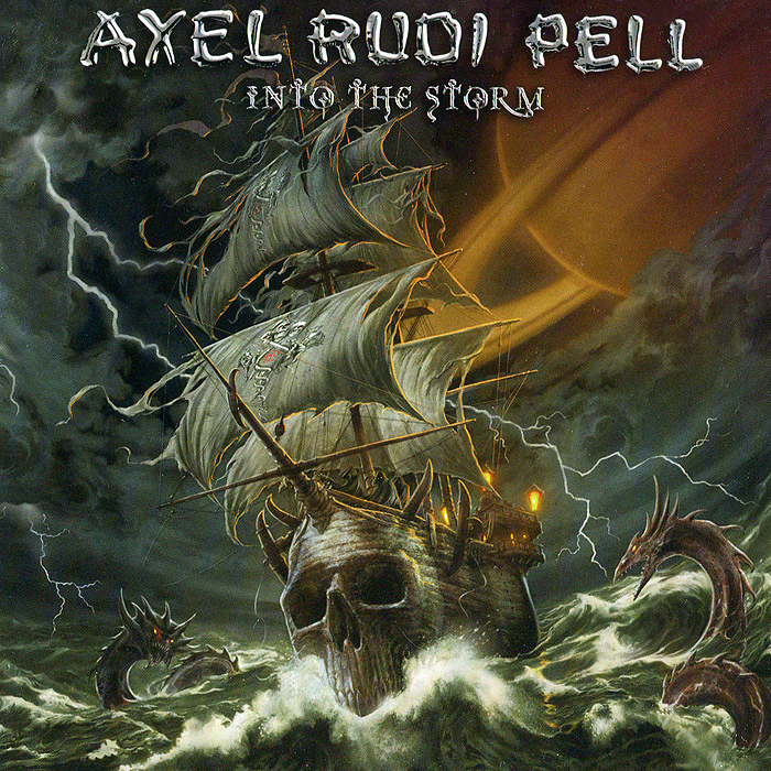 Аксель Руди Пелл Axel Rudi Pell. Into The Storm рубашка fore axel