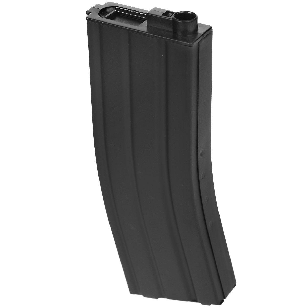 Cybergun бункерный магазин для серии M4/М16, 300 шариков, цвет: черный (185106)AEGLNSABХарактеристики: Материал: металл. Размер упаковки: 23 см х 11 см х 2,5 см.