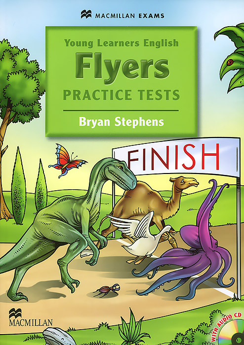 Young Learners Flyers: Practice Test (+ CD-ROM) сумка the cambridge satchel