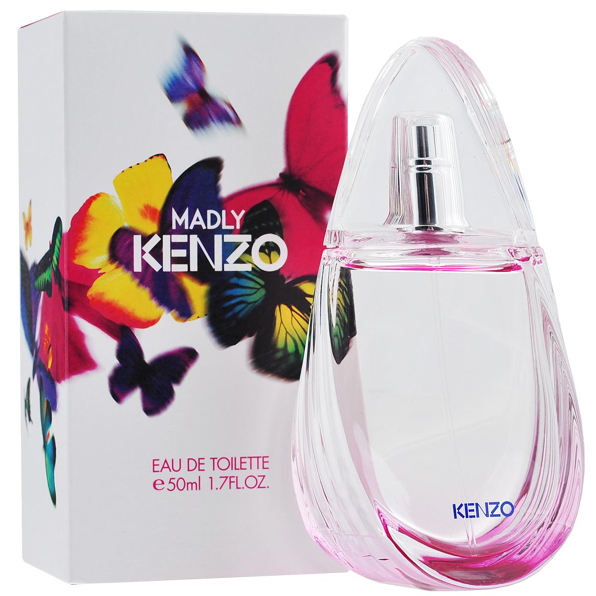 Kenzo Туалетная вода Madly, женская, 50 мл