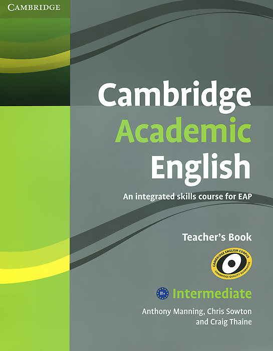 Cambridge Academic English B: An Integrated Skills Course for EAP: Intermediate Teacher's Book three academic databases with arabic language content