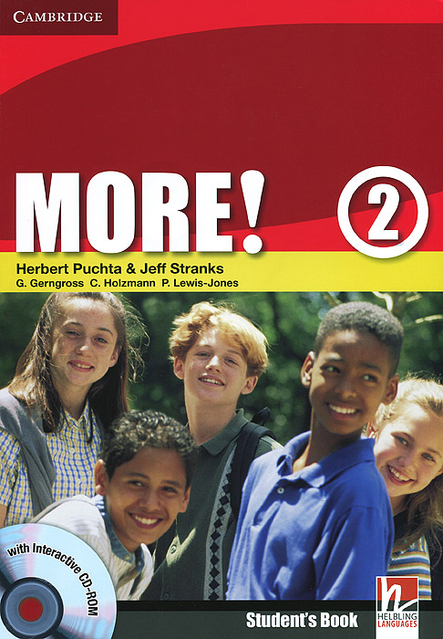More! Level 2: Student's Book (+ CD-ROM) more level 2 dvd