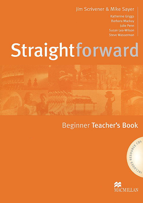 Straightforward: Beginner Teachers Book (+ 2 CD-ROM) fire dept no problem metal tin sign 16 x 12 5