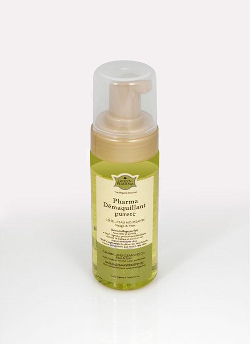 Greenpharma Мусс очищающий для лица и контура глаз, 150 мл7573Очищающий мусс для лица и контура глаз Greenpharma содержит цветочный мед, пробиотики – детоксикаторы, экстракты лайма и аниса, мягкие очищающие компоненты растительного происхождения. Способ применения: нанести на влажную кожу, деликатно помассировать, смыть теплой водой. Характеристики:Объем: 150 мл. Артикул: 7573. Производитель: Россия. Товар сертифицирован.Состав: Water (Aqua). Passion Flower Extract, Mate Leaves Extract, Lotus Flower Extract , Disodium Cocoamphodiacetate, Cocamidopropyl Betaine, Ginseng Root Extract, Sodium Lauroyl Sarcosinate, Calendula Officinalis Extract, Decyl Glucoside, Angelica Acutiloba Extract, Coco-Glucoside, Glyceryl Oleate, Alpha-Glucan Oligosaccharide, Illicium Verum (Anise) Fruit Extract, Citrus Aurantifolia (Lime) Fruit Extract, Polymnia Sonchifolia Root Juice, Maltodextrin, Propylene Glycol. Fragrance (Parfum), Citric Acid, Sodium Salicylate, Potassium Sorbate, Hydrogenated Palm Glycerides Citrate, Tocopherol.