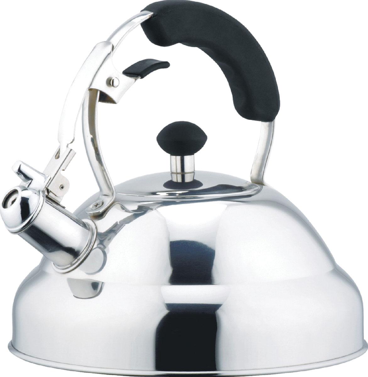 Чайник металлический Bekker De Luxe, 2,6 л. BK-S402 bekker чайник заварочный пресс фильтр bekker de luxe bk 389 0 6 л ni4uhc1