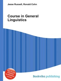 Course in General Linguistics sociobiogenetic linguistics
