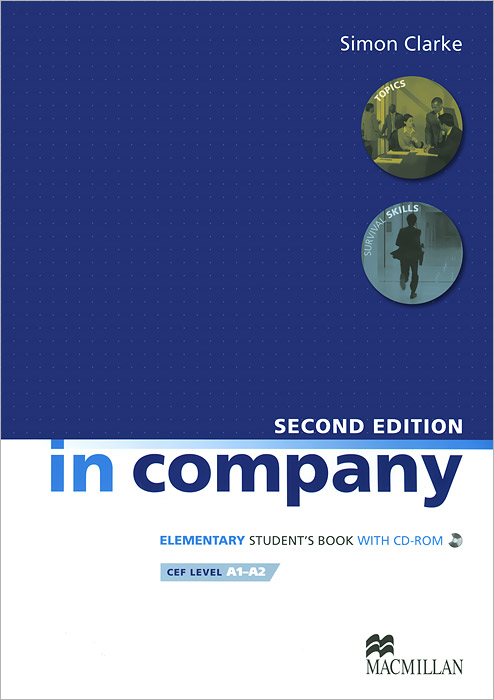 In Company: Student's Book Elementary (+ CD-ROM) russian phrase book