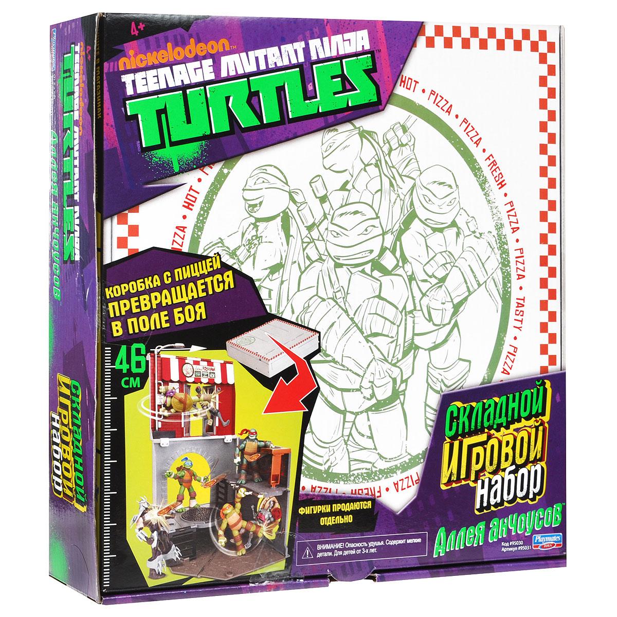Игровой набор Turtles Анчоусная аллея игровые фигурки turtles машинка черепашки ниндзя 7 см сплинтер на атаке сенсея