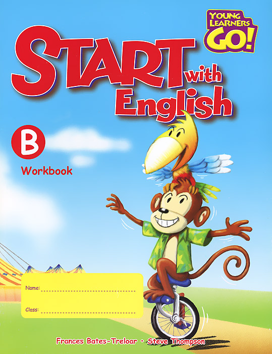 Start with English: Workbook B easy learning speak french with cdx2