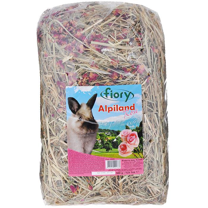 Альпийское сено для грызунов Fiory Alpiland Rose, с розой, 500 г06595Альпийское сено для грызунов Fiory Alpiland Camomile прекрасно подходит для ежедневного рациона всех видов кроликов. Продукт изготовлен из натурального сена Тосканы. Луга этой итальянской провинции богаты клевером, подорожником, одуванчиком, эспарцетом. Эти ценные травы содержат минеральные вещества, в том числе, кварц и кремний. Трава является самым важным продуктом питания кроликов, живущих в природе и на открытом воздухе. Сено ароматное и богатое люцерной посевной, одуванчиком и клевером, высушенное до нужной степени, чтобы не вредить деликатному кишечнику кролика, является маленьким кусочком природы, подаренным вашему кролику. Состав: сено, сушеные лепестки роз.Вес: 500 г. Товар сертифицирован.