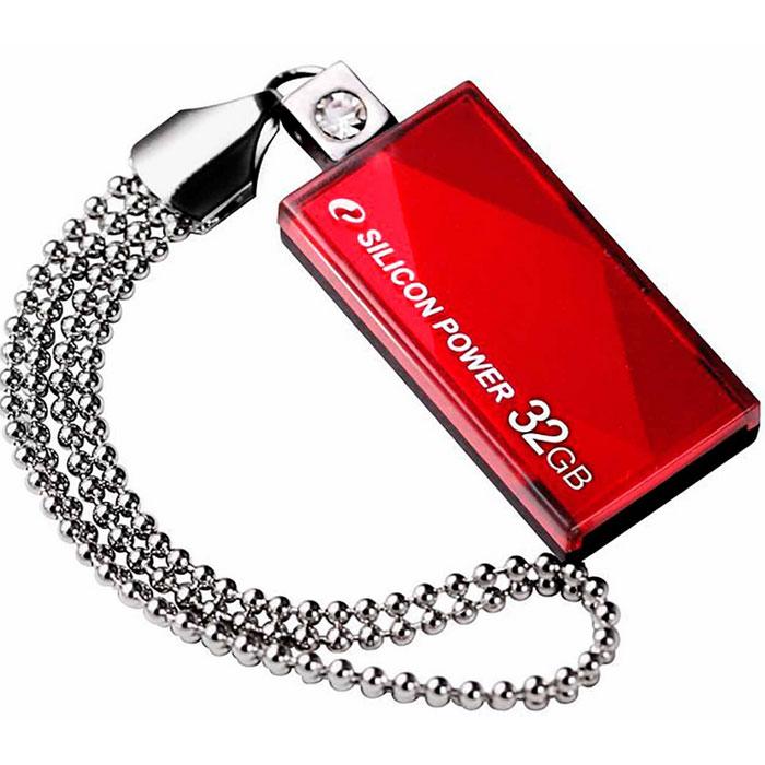 Silicon Power Touch 810 32GB, Red - Носители информации