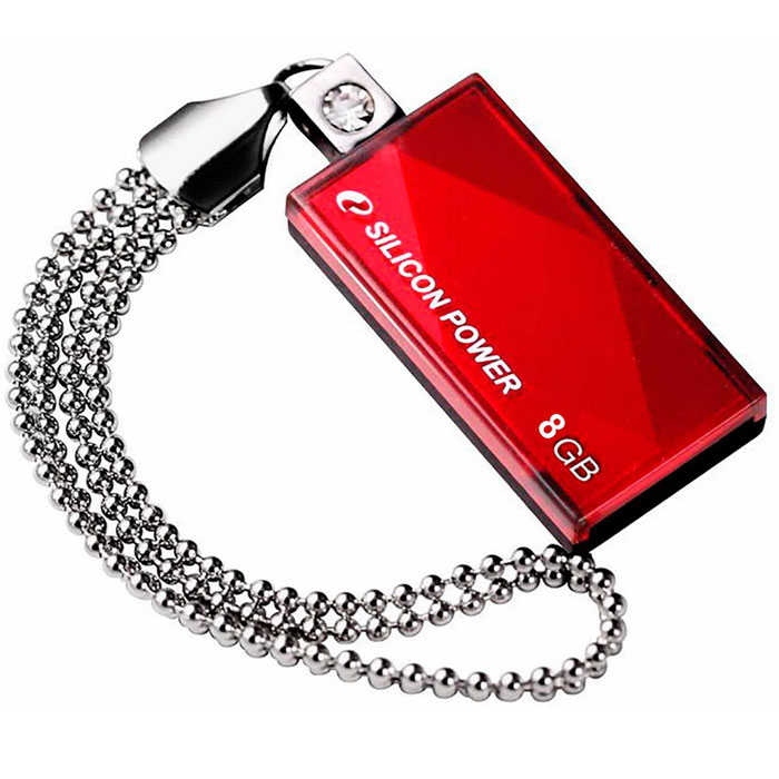 Silicon Power Touch 810 8GB, Red - Носители информации