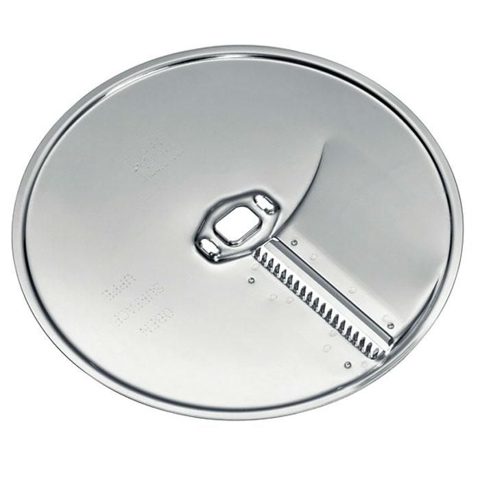 Bosch MUZ45AG1 диск-жюльен для нарезки длинными тонкими ломтиками для MUM5, MUM4,MCM55MUZ45AG1Bosch MUZ45AG1 диск-жюльен для нарезки длинными тонкими ломтиками, подходит к кухонным комбайнам моделей MUM5, MUM4,MCM55.