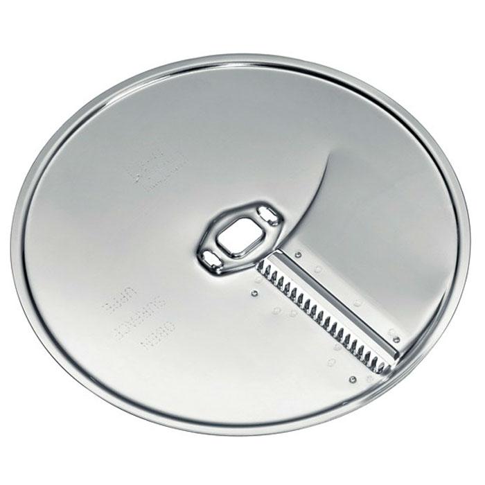 Bosch MUZ8AG1 MUM8 диск-жульен для нарезки длинными тонкими ломтикамиMUZ8AG1Bosch MUZ8AG1 MUM8 - диск-жульен из нержавеющей стали для универсальной резки.