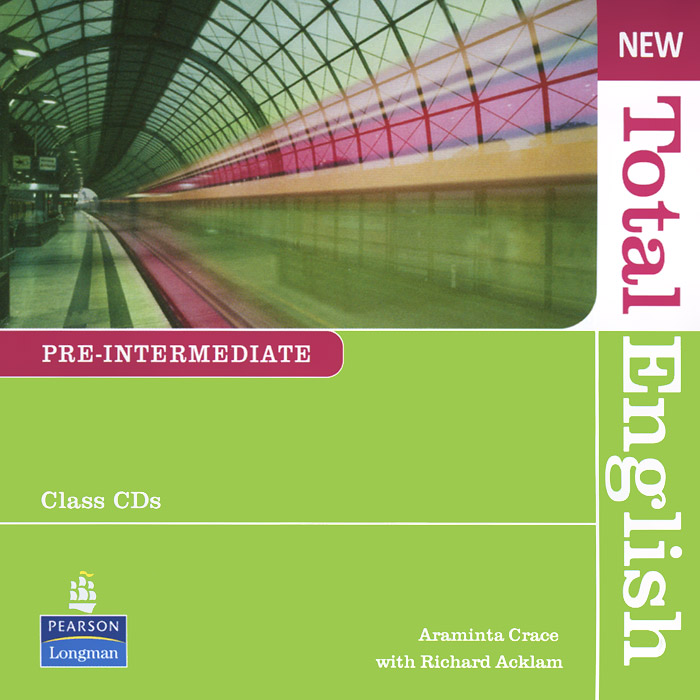 New Total English: Pre-Intermediate (аудиокурс на 2 CD) clare a new total english intermediate workbook with key cd