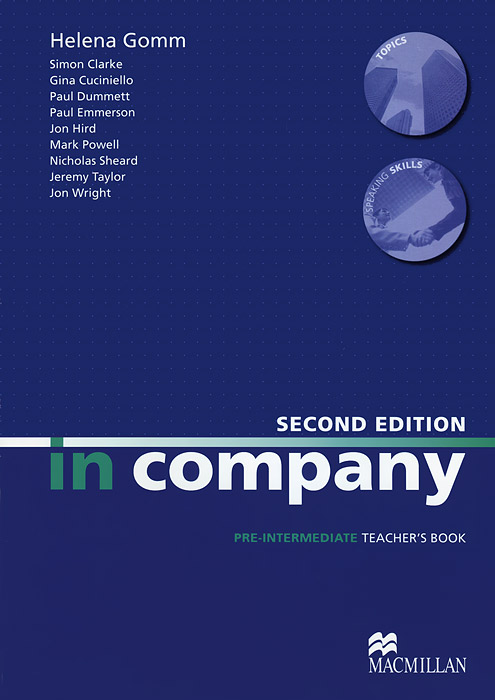 In Company: Pre-Intermediate: Teacher's Book cv earth through time sixth edition acp course notes for university of south dakota set