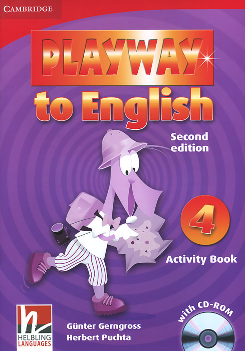 Playway to English: Level 4: Activity Book (+ CD-ROM) цена