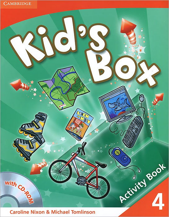 Kid's Box: Level 4: Activity Book (+ CD-ROM) hot spot level 3 teacher s book cd rom