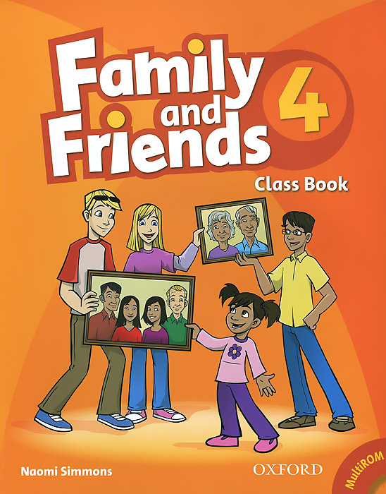 Family and Friends 4: Class Bbook (+ CD-ROM) diy colorful wooden family and friends birthday calendar