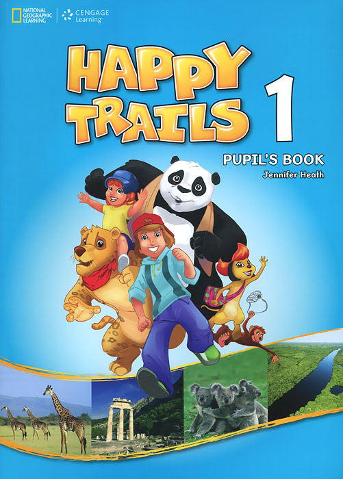 Happy Trails 1: Pupil's Book (+ CD-ROM) leo bormans the world book of happiness