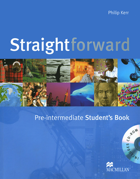 Straightforward: Pre-Intermediate: Student's Book (+ CD ROM) choices pre intermediate teacher s book dvd rom