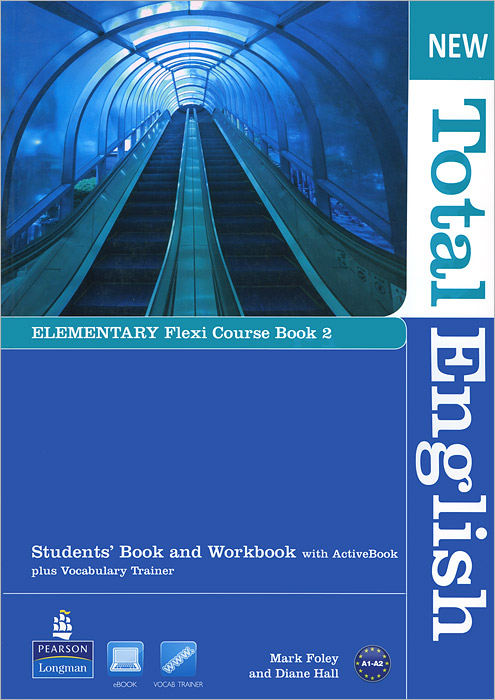New Total English: Elementary Course Book 2 (+ CD-ROM) 2pcs lot ds12c887 ds12c887 original authentic and new free shipping ic