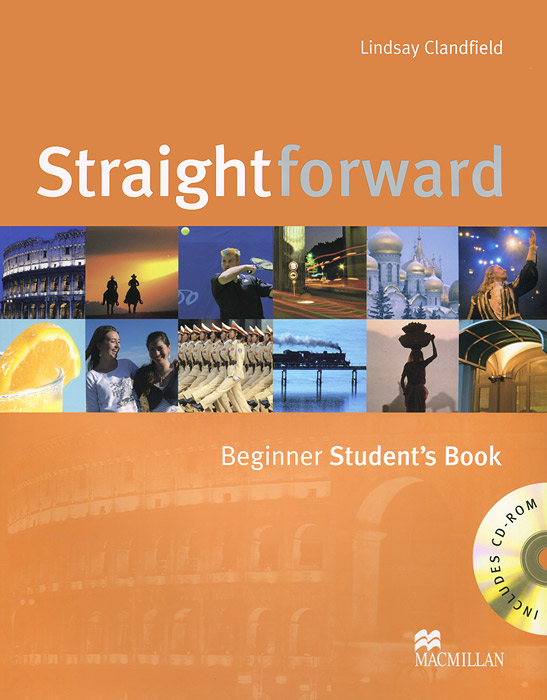Straightforward Beginner Student's Book + CD-ROM