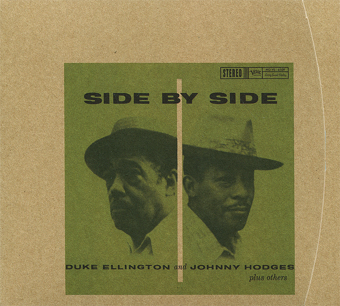 Duke Ellington And Johnny Hodges. Side By Side