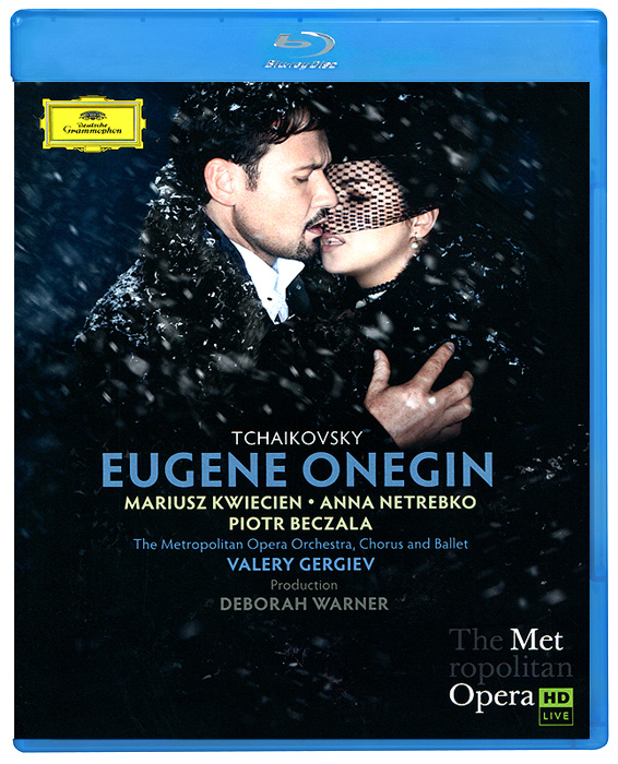Tchaikovsky, Valery Gergiev: Eugene Onegin (Blu-ray) tchaikovsky valery gergiev pique dame
