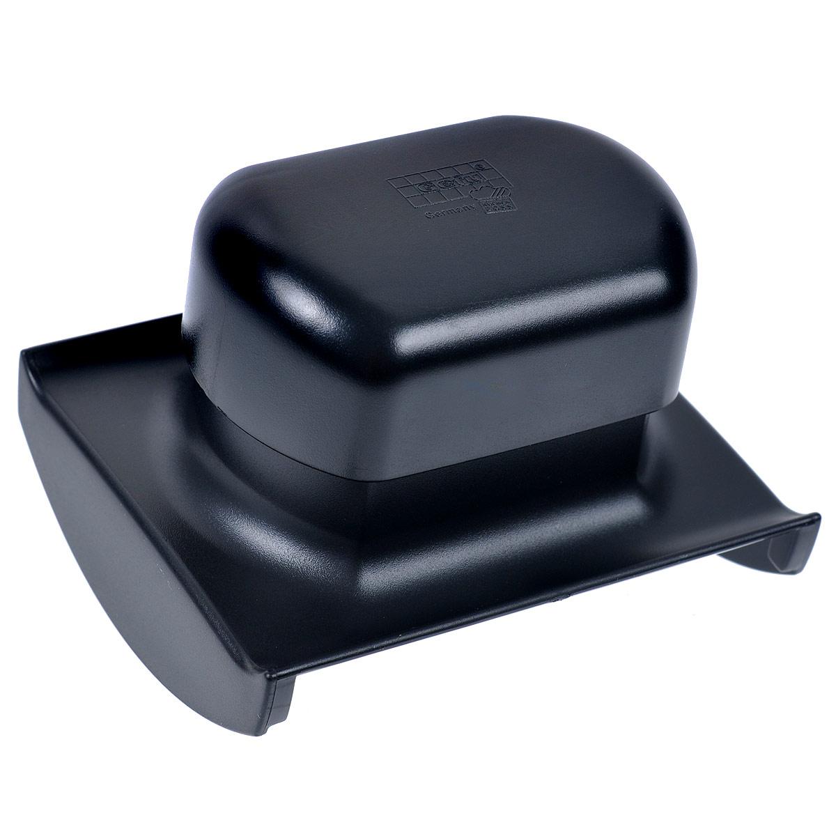 Держатель для терки Raspini55550Держатель для терки Raspini выполнен из высококачественного пластика черного цвета. Специальный держательдля терки Raspini защищает руки и дает возможность нарезать любые продукты.Можно мыть в посудомоечной машине.Характеристики:Материал: высококачественный пластик. Размер: 11 см х 9,5 см х 8 см. Цвет: черный. Артикул: 55550.