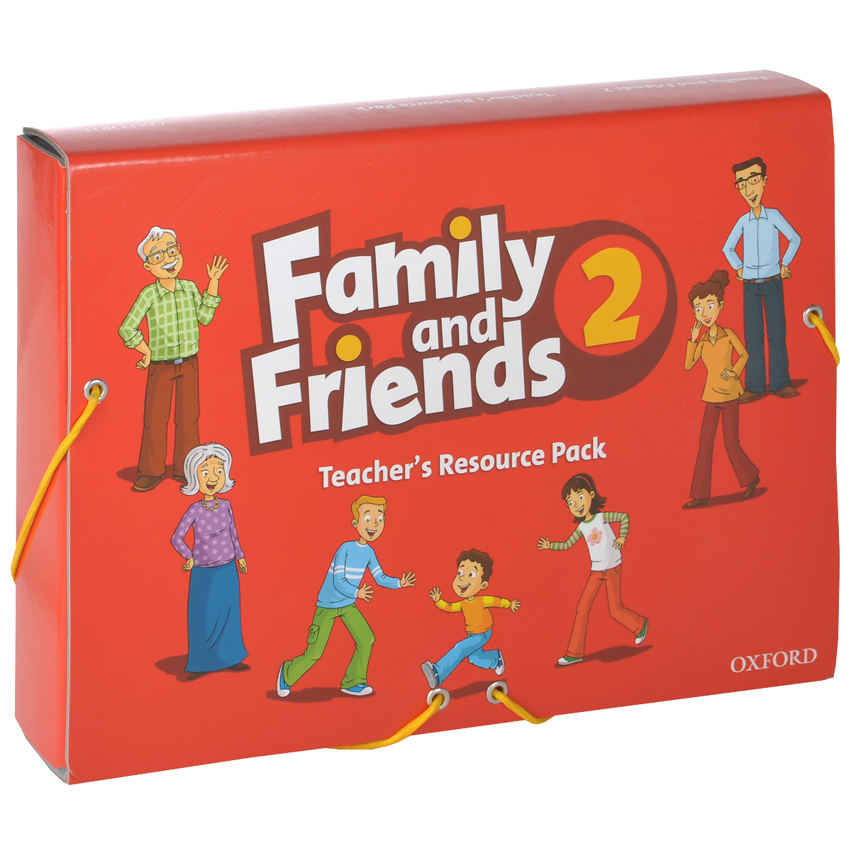 Family and Friends 2: Teacher's Resource Pack little friends flashcards набор из 21 карточки