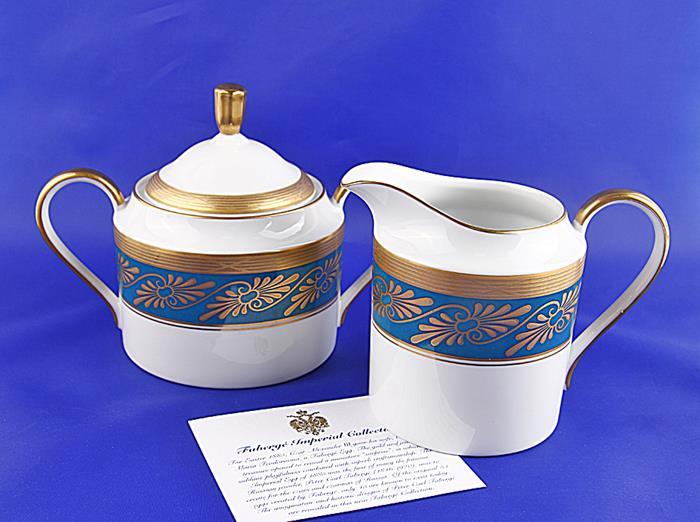 Чайный набор Фаберже