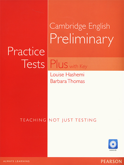 Cambridge English Preliminary: Practice Tests Plus with Key (+ 3 CD-ROM) pass cambridge bec higher self study practice tests with key cd