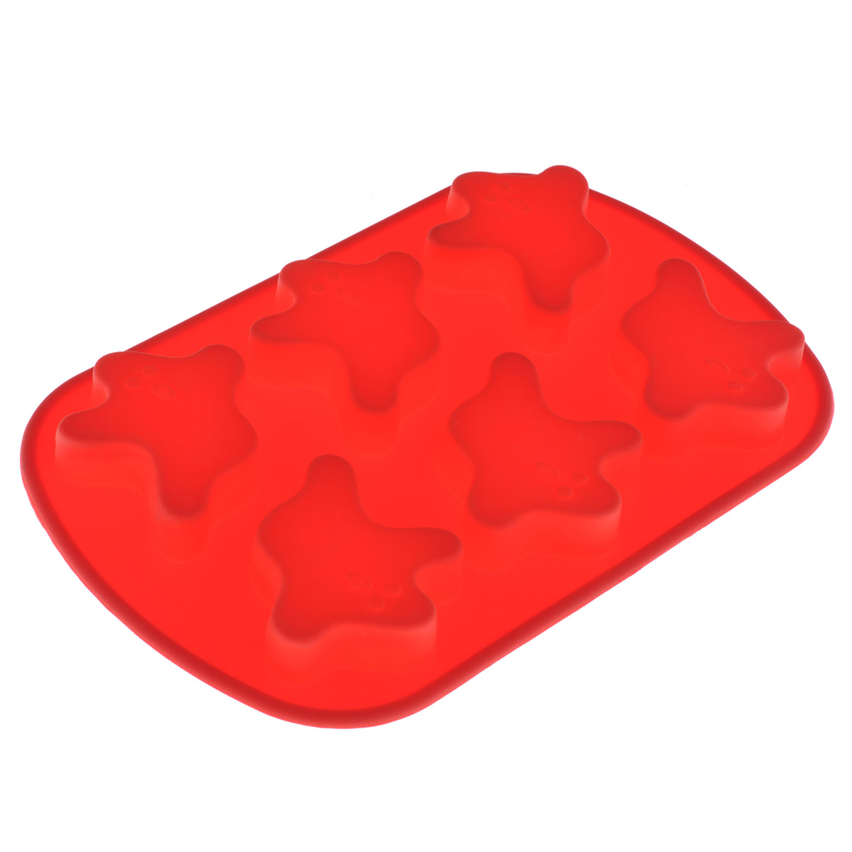 Форма силиконовая Mayer & Boch, 6 ячеек, цвет в ассортиментеMN3715Форма Mayer & Boch выполнена из силикона цвета и предназначена для выпечки печенья. На одном листе расположено 6 ячеек.Силиконовые формы выдерживают высокие и низкие температуры (от -40°С до +220°С). Они эластичны, износостойки, легко моются, не горят и не тлеют, не впитывают запахи, не оставляют пятен. Силикон абсолютно безвреден для здоровья.Не используйте моющие средства, содержащие абразивы. Можно мыть в посудомоечной машине. Подходит для использования во всех типах печей. Характеристики:Материал: силикон. Цвет: красный. Общий размер формы: 25 см х 16 см х 2 см. Глубина ячейки: 3,5 см. Размер упаковки: 31,5 см х 16,5 см х 2,5 см. Артикул: MN3715.УВАЖАЕМЫЕ КЛИЕНТЫ! Обращаем ваше внимание на ассортимент в цветовом дизайне товара. Поставка осуществляется в зависимости от наличия на складе.
