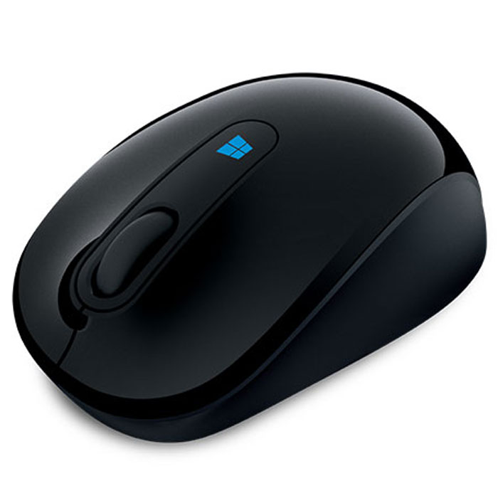 Microsoft Sculpt Mobile Mouse, Black беспроводная мышь microsoft sculpt mobile mouse black беспроводная мышь