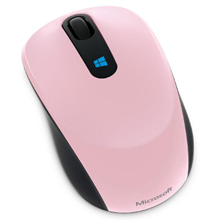 Microsoft Sculpt Mobile Mouse, Pink беспроводная мышь43U-00020Беспроводная компактная мышь Microsoft Sculpt Mobile Mouse.Кнопка Windows на Sculpt Mobile Mouse — это новая впечатляющая функциональная возможность, отлично работающая с Windows 8. Нажмите эмблему Windows, чтобы сразу же перейти к начальному экрану и всем закрепленным на нем важным приложениям.От редактирования презентаций до общения с друзьями по сети — Sculpt Mobile Mouse во всем проявит себя удобным и надежным соратником в условиях современной мобильной жизни. Ее компактный дизайн и технология BlueTrack Technology, обеспечивающая работу практически на любой поверхности, делают из нее идеальное устройство для работы в офисе и вне его. Благодаря этой беспроводной мыши, подключающейся по mini-USB, на вашем столе (или кофейном столике) появится больше места и комфорта.Классическая форма Sculpt Mobile Mouse в сочетании с четырехмерным колесом прокрутки обеспечивают интуитивность в использовании и удобно лежит в любой из рук. Наклоны колеса влево и вправо обеспечивают горизонтальную прокрутку, удобную при навигации по начальному экрану, перемещении по широким документам.