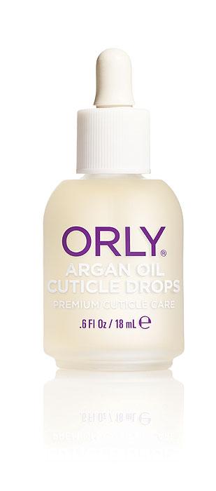 Orly Капли для кутикулы Argan Oil Cuticle Drops с аргановым маслом, 18 мл24500Средство Orly Argan Oil Cuticle Drops разработано на основе уникального масла арганы, которое на 80% состоит из ненасыщенных жирных кислот. Также в его состав входят антиоксиданты и витамины А, Е. Входящие в состав компоненты способствуют снятию воспаления и быстрому восстановлению сухой обезвоженной кутикулы, интенсивно питают и возвращают ногтям здоровый ухоженный вид. Средством легко пользоваться, так как оно имеет удобный пузырек, обеспечивающий капельное нанесение.Способ применения: нанести небольшое количество масла на зону кутикулы и втереть массажными движениями в кожу вокруг ногтя. Рекомендовано для ежедневного использования. Характеристики:Объем: 18 мл. Артикул: 24500. Производитель: США. Товар сертифицирован.Состав: масло семян подсолнечника, масло аргановое, масло жожоба, парфюмерная отдушка, масло вечерней примулы, масло виноградной косточки, лимонное масло, сафлоровое масло, экстракт листьев алоэ-вера, токоферол, бензил бензоат.Как ухаживать за ногтями: советы эксперта. Статья OZON Гид