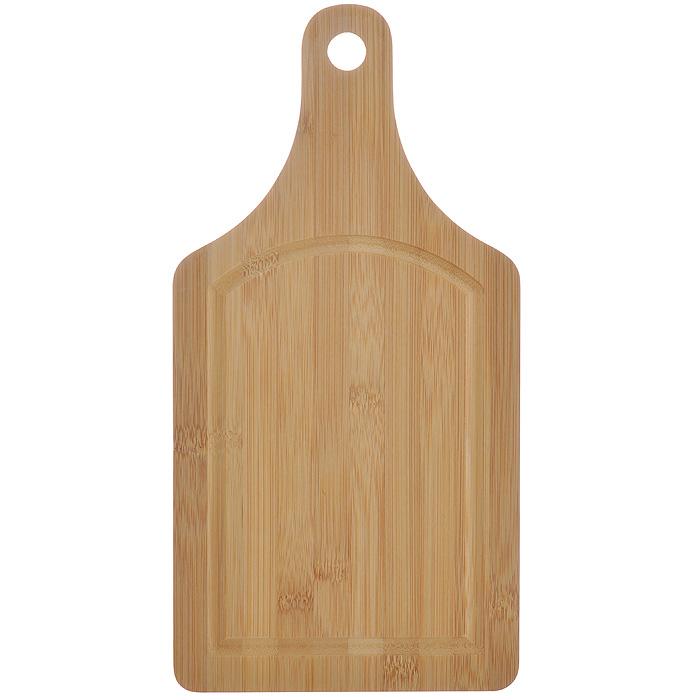 Доска кухонная Hans & Gretchen, 36 см х 18 см х 0,5 см. 28HS-350628HS-3506Доска кухонная Hans & Gretchen изготовлена из бамбука. Прекрасно подходит для приготовления и сервировки пищи. Всем известно, что на кухне без разделочной доски не обойтись! Ведь во время приготовления пищи мы то и дело что-то режем. Поэтому разделочная доска должна быть изготовлена из прочного и экологически чистого материала, ведь с ней соприкасается наша пища. Характеристики:Материал: бамбук. Размер: 36 см х 18 см х 0,5 см. Производитель: Германия. Артикул: 28HS-3506.