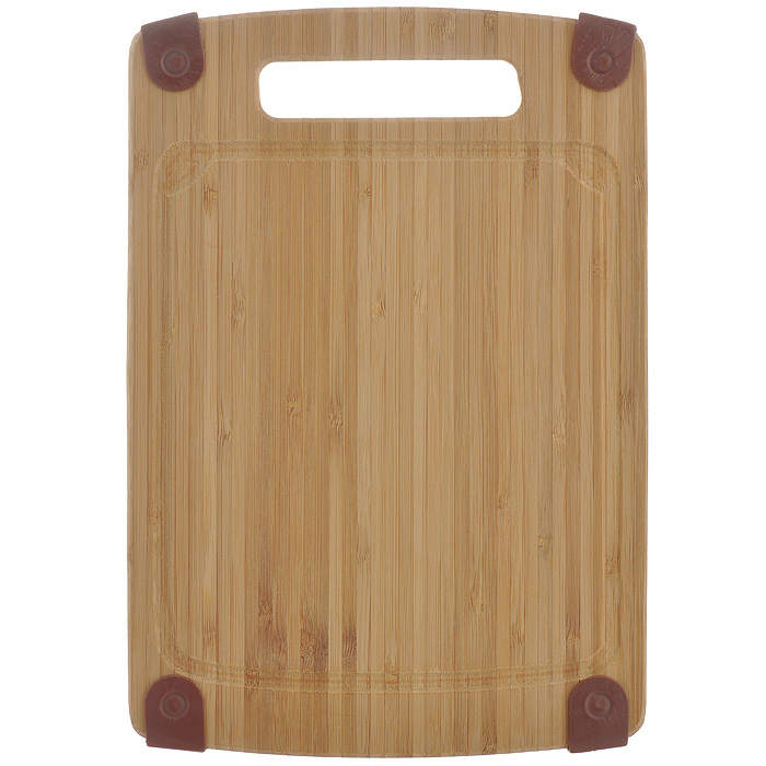 Доска кухонная Semplice, 29 см х 20 см х 1 см. SB-SSB-SДоска кухонная Semplice изготовлена из бамбука. Прекрасно подходит для приготовления и сервировки пищи. Всем известно, что на кухне без разделочной доски не обойтись! Ведь во время приготовления пищи мы то и дело что-то режем. Поэтому разделочная доска должна быть изготовлена из прочного и экологически чистого материала, ведь с ней соприкасается наша пища. Характеристики:Материал: бамбук, резина. Размер: 29 см х 20 см х 1 см. Производитель: Германия. Артикул: SB-S.