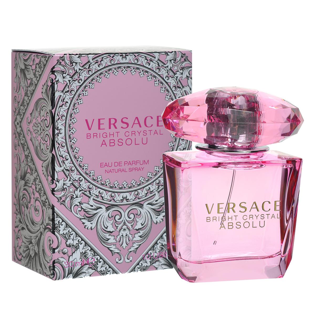 Versace Парфюмерная вода Bright Crystal Absolu, женская, 30 мл парфюмерная вода versace bright crystal absolu 50 мл