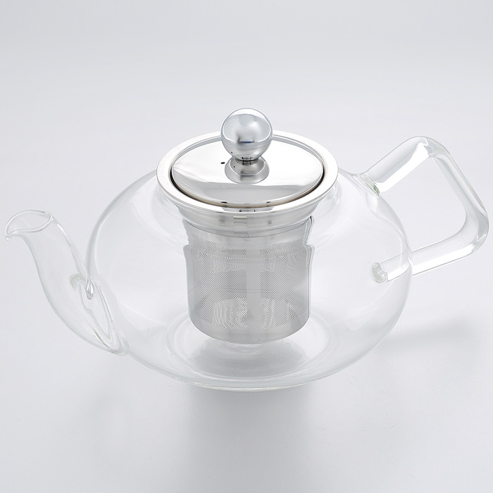 Чайник заварочный Hans & Gretchen, с фильтром, 800 мл. 14YS-820614YS-8206Заварочный чайник Hans & Gretchen изготовлен из экологически чистых и безопасныхматериалов. Колба выполнена из прочного термостойкого стекла Pyrex, выдерживающеготемпературу до 150°С. Пластиковые детали цвета металлик изготовлены из прочногонетоксичного материала. Чайник оснащен металлическим фильтром. Чайник используется только для приготовления чая. Простой и удобный прибор поможет вамприготовить крепкий, ароматный чай. Рекомендации по использованию:- не используйте посуду в случае появления трещин,- не используйте в СВЧ,- можно мыть в посудомоечной машине. Диаметр по верхнему краю: 8 см. Высота (без учета крышки): 9,5 см. Высота фильтра: 7,5 см.