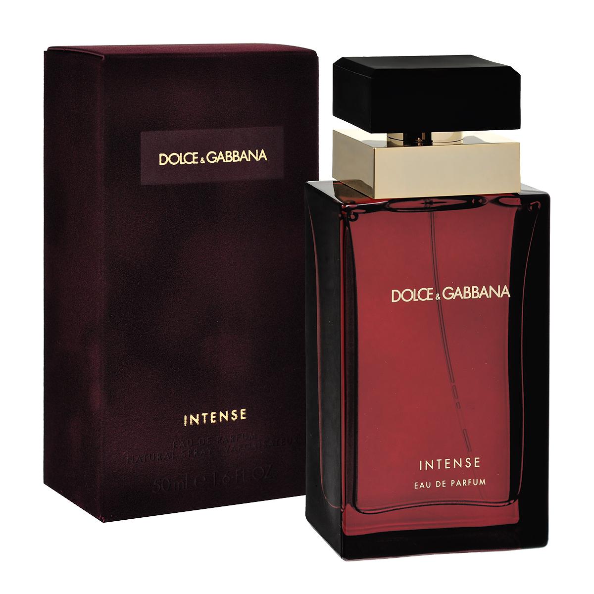 Dolce&Gabbana Парфюмерная вода Pour Femme Intense, женская, 50 мл