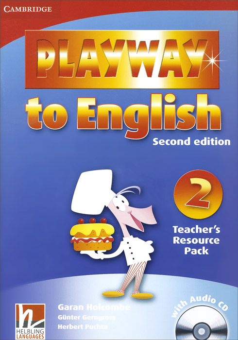 Playway to English: Level 2: Teacher's Resource Pack (+ CD-ROM) тарелка сплэш meinl 10 byzance vintage splash